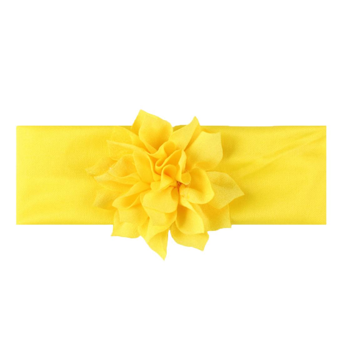 Baby-Bow-Nylon-Headband-Soft-Stretch-Flower-Nylon-Headband-Children-039-s-Headband thumbnail 6