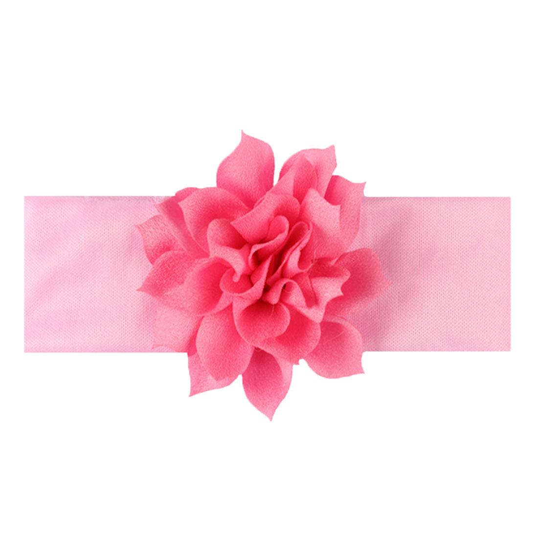 Baby-Bow-Nylon-Headband-Soft-Stretch-Flower-Nylon-Headband-Children-039-s-Headband thumbnail 5